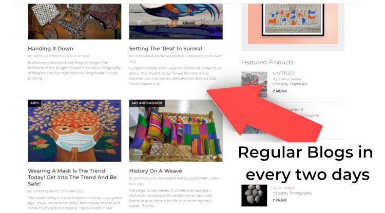 Mojarto Blogs every two Days